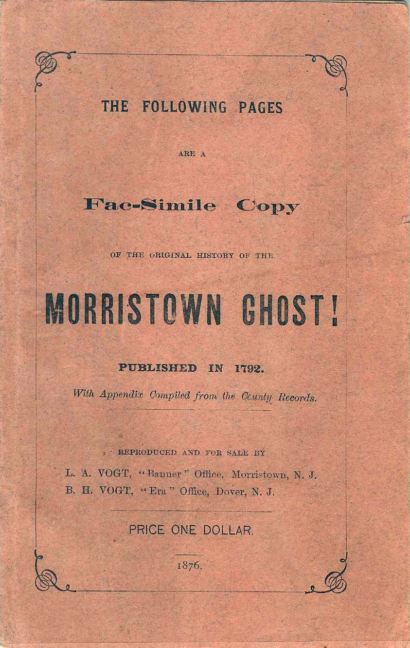 The Morristown Ghost