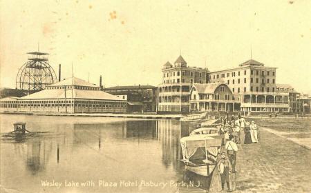 Asbury Park, N.J., postcard, circa 1900