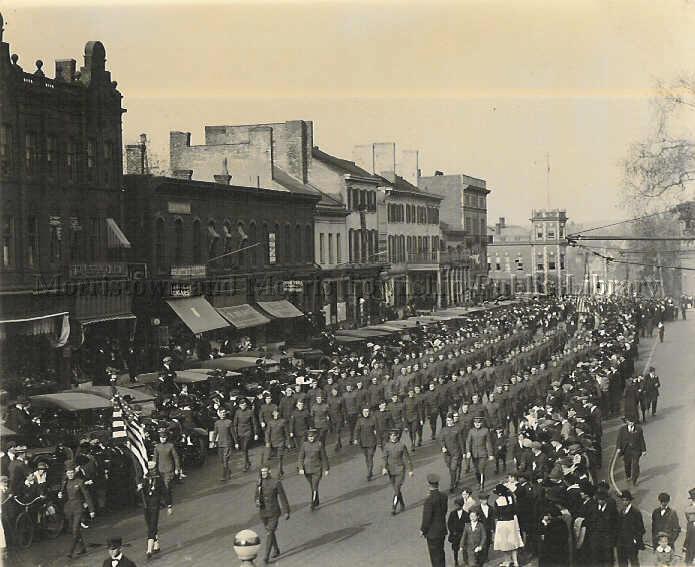 St. Patrick's Day Parade, circa 1900
